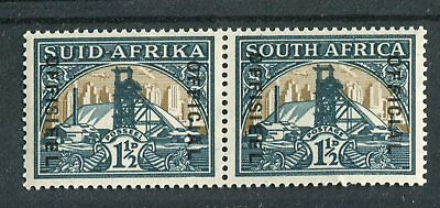 South Africa 1935-49 Official 1.5d green & bright gold (wmk up) SG.O22aw MNH