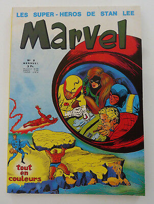 MARVEL n° 9  Déc 1970 STAN LEE Comme Neuf COMICS Spiderman RARE