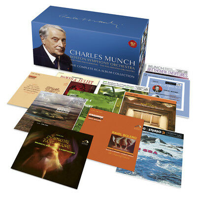 RCA / SONY 86-CD Box: Charles Munch - The Complete RCA Collection - 2016 SEALED