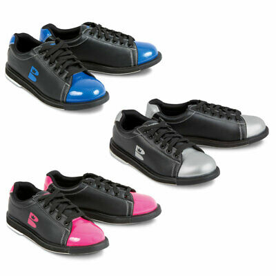 Bowling Shoes Brunswick Cible Zone Unisex and Unisex Blue Silver Pink
