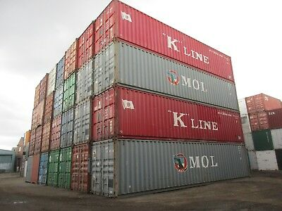 40Ft  Csc Plated  Shipping Container