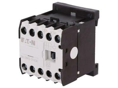 DILEM12-01-230-E Contactor3-pole Auxiliary contacts NC 230VAC 12A NO