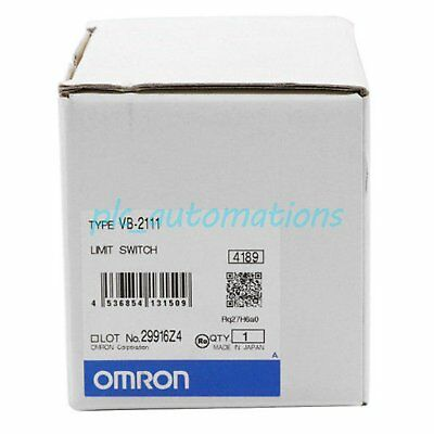 1pc New in box Omron VB-2111 Limit Switch 1 year warranty