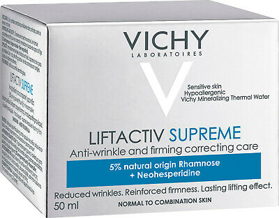 Vichy Liftactiv Supreme Anti-Wrinkle & Firmness Care Normal/Combi GENUINE & NEW