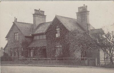 Large House, Lancaster Postmark, Real photo, old postcard, posted 1905