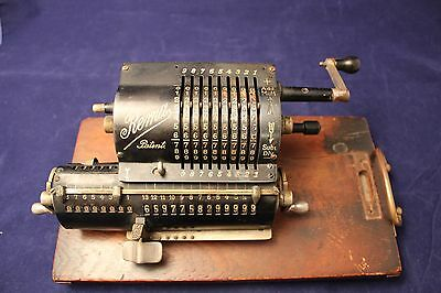 Rare Antique Mechanical Four Function Calculator By REMA Circa 1915
