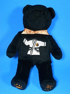 ty beanie babies Baby? black Bear Judo Karate Taekwondo embroidered Yin Yang Art