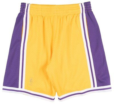 432ac4c9808 LOS ANGELES LAKERS Mitchell   Ness NBA Swingman Men s Mesh Shorts ...