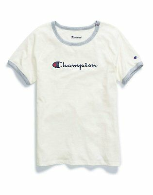 a0ea6f70 CHAMPION WOMENS HERITAGE Ringer Tee shirt size Medium Large - $20.99 ...