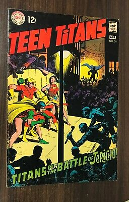 TEEN TITANS #20 -- April 1969 -- Neal Adams -- VG/F Or Better