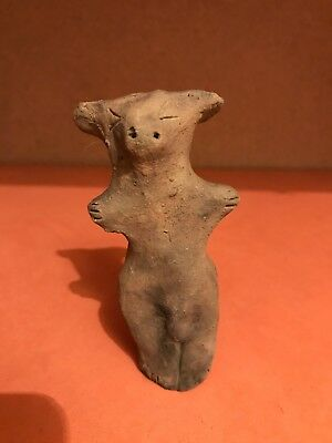 Ultra Rare Huge Stone Age Ancient Neolithic Anthromorphic Vinca Idol 4500BC