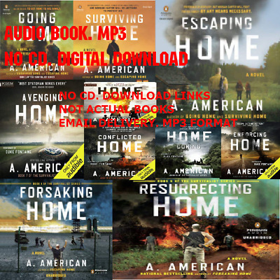 The Survivalist Series by A American 10 AUDIO BOOKS