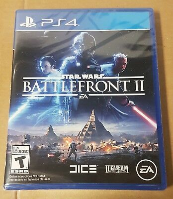 Star Wars: Battlefront II Sony PlayStation 4 PS4  BRAND NEW Game!  See Pictures!