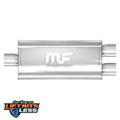 MagnaFlow 12158 Satin Stainless Steel Muffler for 1990-2016 Audi S4/SQ5 Gas