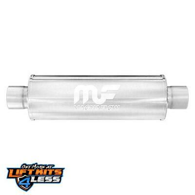 MagnaFlow 14416 Polished Stainless Steel Muffler For 2014-2015 Infiniti Q50 Gas