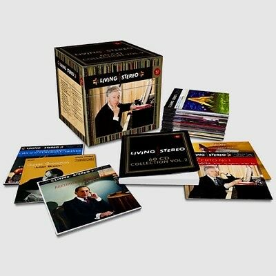 RCA 60-CD Box 88843003502: Living Stereo 60-CD Collection Volume 2 - 2014 SEALED