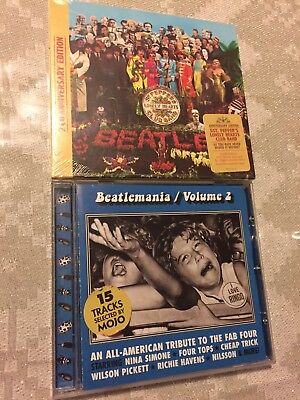 THE BEATLES Sgt. Pepper's Lonely Hearts Club Band 2 CD Deluxe 50th Anniversary *
