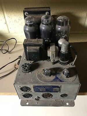 Seeburg Master Amplifier Not Tested