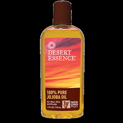 Desert Essence - 100 Pure Jojoba Oil 4 oz 2110NDE FREE 3 DAY SHIP