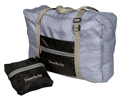 Universal Personal Item Bag Carry on Duffel Bag Stores Under The Seat Multi Use