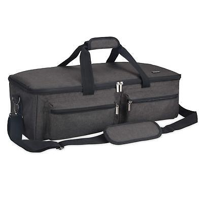 Dark Grey Bagpipe Soft Case highland bagpipes border lowland small pipes e6be5390ede33