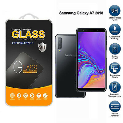 For Samsung Galaxy A7 2018 Tempered Glass Mobile Phone Screen Protector