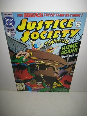 JUSTICE SOCIETY OF AMERICA #1 (DC Comics 1992) 1st appearance JESSE QUICK