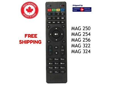 Replacement IPTV Remote Control For Mag 250 254 255 260 261 270 322