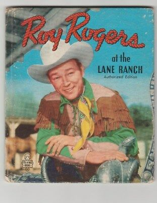 Roy Rogers  1950 Tell A Tail Books Great Condition