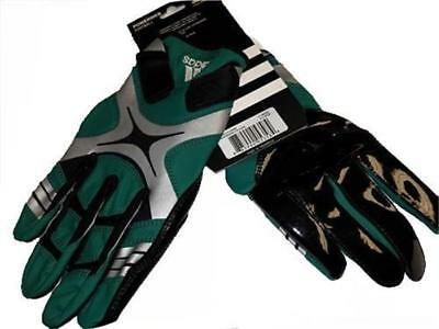 New Adidas Green PowerWeb Receiver Football Gloves Adult Mens L-XL-2XL-3XL-4XL