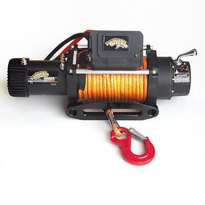 RRO 8288 Quick 138:1 12v 6.8hp Electric 4wd Winch Synthetic Rope 5yr Warranty