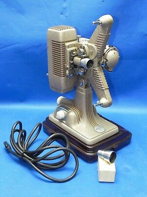 Revere P-90 8mm Movie Projector w/Case Includes One Reel & Extra Wide Angle Lens