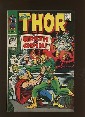 Thor 147 FN/VF 7.0 * 1 Book Lot * Two Stories by Stan Lee & Jack Kirby!
