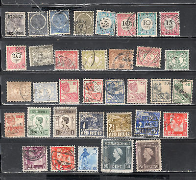 Netherlands Dutch Indies Indonesia  Stamps Canceled Used    Lot 33588