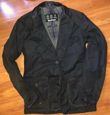 Barbour Commander Olive Wax Sports Jacket