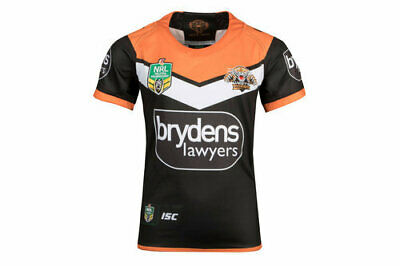 Wests Tigers NRL 2018 Home ISC Home Jersey Kids Sizes 6-14! In Stock!