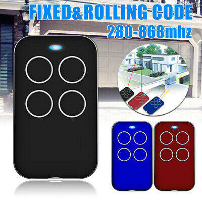 280-868MHZ Universal Fix Rolling Gate Garage Door Remote Control Duplicator Tool