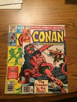 Conan The Barbarian 115 116 VF/NM- 1980 Marvel Complete