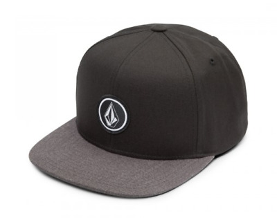 Volcom Quarter Charcoal Heather Youth Snapback Hat