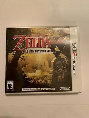 The Legend of Zelda: A Link Between Worlds (Nintendo 3DS, 2013) authentic tested