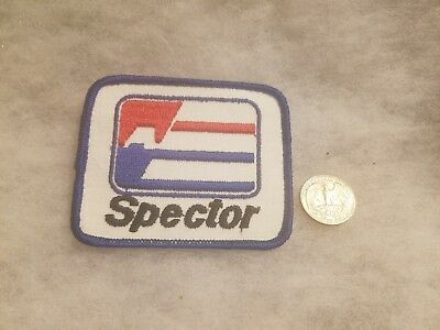 Rare Patch SPECTOR EMBROIDERED SEW ON PATCH TRUCK Semi Big Rig
