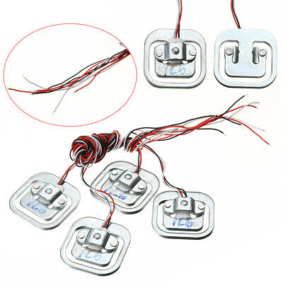 4pcs/set 50Kg Human Body Load Cell Weighing Scale Sensor Resistance Half-bridge