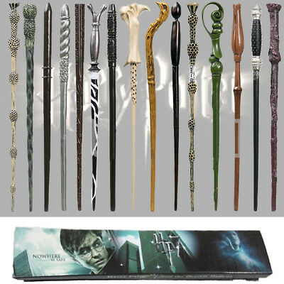 Harry Potter Movie Magic Wand College Wizard Cosplay Stick Kids Toys Gift Box