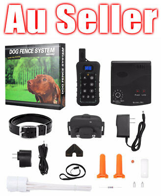 Dogs Electric Hidden Waterproof Dog Fence System Rechargeable Collar Fencing