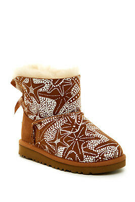 617b564ed8b UGG KIDS' MINI Bailey Bow (Toddler/Little Kids) - Chestnut ...