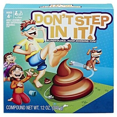 Don't Step In It Hasbro Game Toy