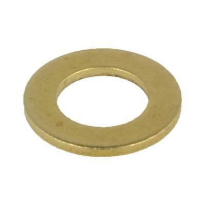 Flat Standard Washer M8 (8mm) x 17mm x 1.2mm Metric Round BRASS