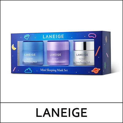 [Laneige][Holiday Collection Limited] Mini Sleeping Mask Set (25ml*3ea) / (VL넷)