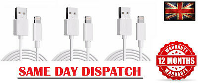3 x cables iPhone 6 Speedy Data Cable Apple iPad USB Charger Lighting Sync 6 6s