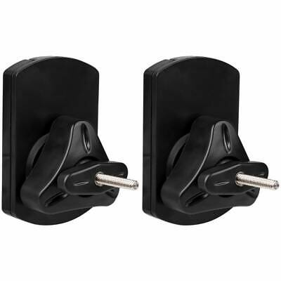 Dayton Audio Shadow Mount SWMB Adjustable Bookshelf Speaker Wall Mount Pair